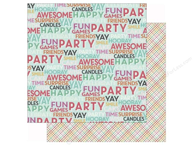 Echo Park 12 x 12 in. Paper Party Time Surprise Party (25 sheets)