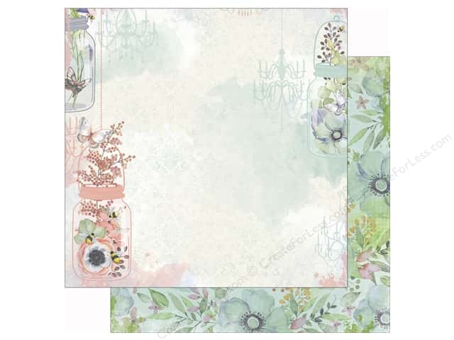 Bo Bunny 12 x 12 in. Paper Butterfly Kisses Collection Butterfly Kisses (25 sheets)