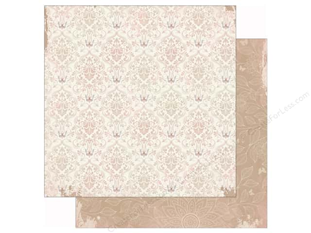 Bo Bunny 12 x 12 in. Paper Butterfly Kisses Collection Breeze (25 sheets)