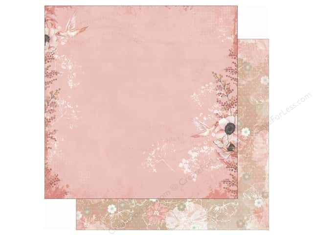 Bo Bunny 12 x 12 in. Paper Butterfly Kisses Collection Peaceful (25 sheets)