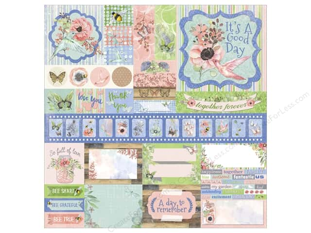 Bo Bunny Stickers Butterfly Kisses Combo (12 sheets)