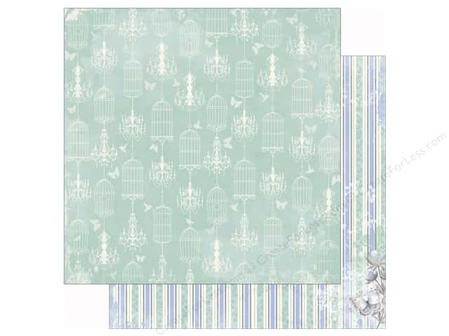 Bo Bunny 12 x 12 in. Paper Butterfly Kisses Collection Gentle (25 sheets)