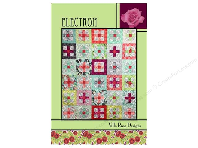 Villa Rosa Designs Electron Pattern Card