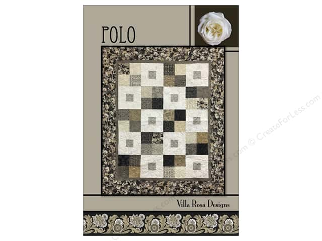 Villa Rosa Designs Polo Pattern Card