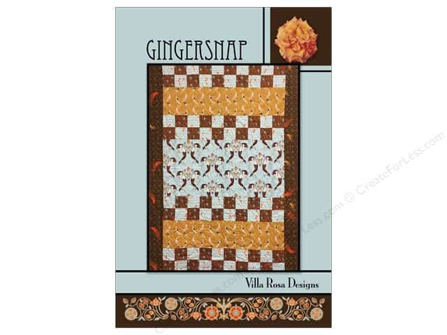 Villa Rosa Designs Gingersnap Pattern Card
