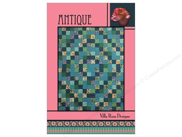 Villa Rosa Designs Antique Pattern Card