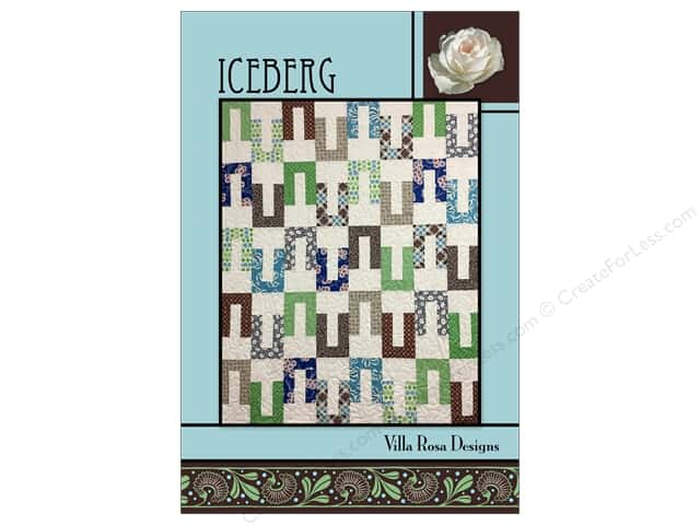 Villa Rosa Designs Iceberg Pattern Card