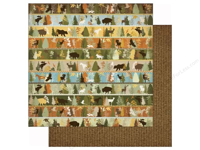 Bo Bunny 12 x 12 in. Paper Take A Hike (25 sheets)