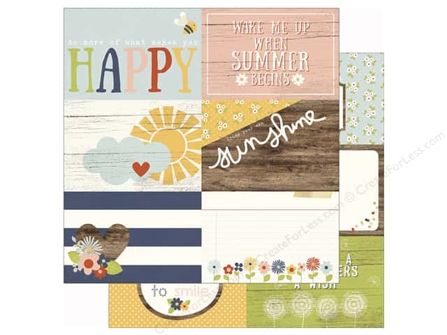Simple Stories 12 x 12 in. Paper Bloom & Grow 4 x 6 Journal (25 sheets)