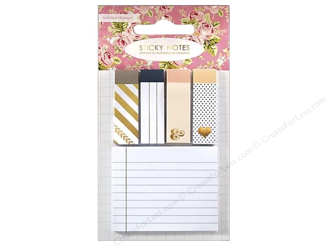 Webster's Pages Color Crush Planner Sticky Notes