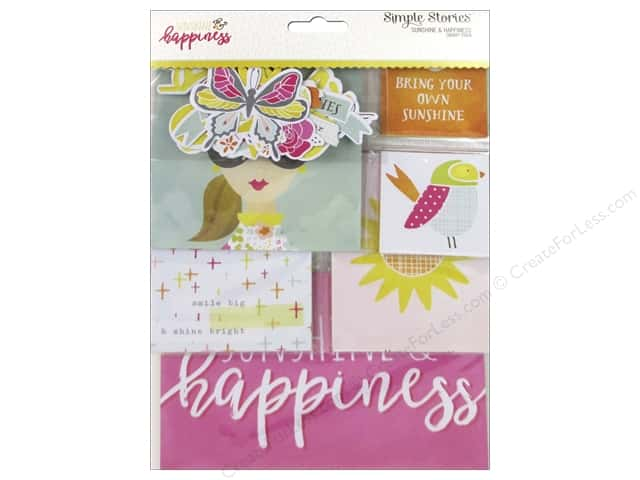 Simple Stories Collection Sunshine & Happiness Snap Pack