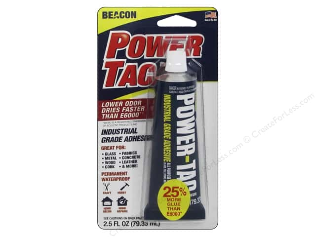 Beacon Power-Tac Industrial Grade Adhesive 2.5 oz.
