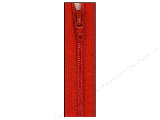 Atkinson Designs Zipper by YKK 22 in. Red River