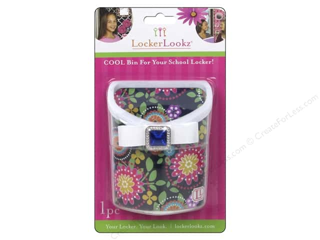 LockerLookz Locker Bin Navy Floral
