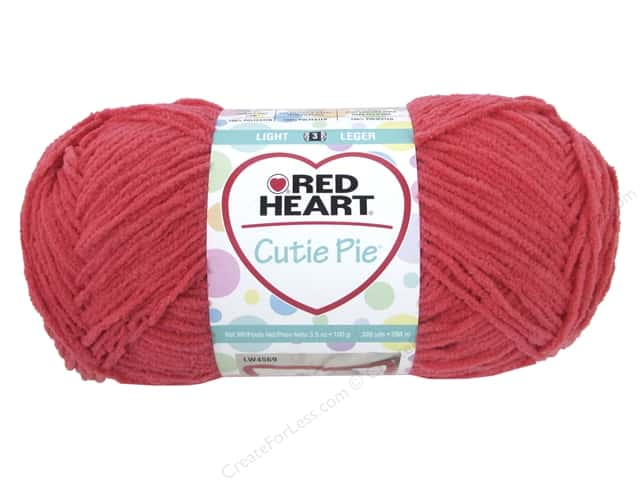 Red Heart Cutie Pie Yarn 326 yd. #0262 Crabbie