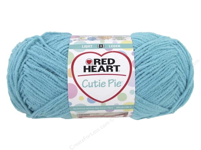 Red Heart Cutie Pie Yarn 326 yd. #0503 Splash