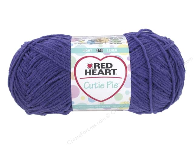 Red Heart Cutie Pie Yarn 326 yd. #0541 Jelly