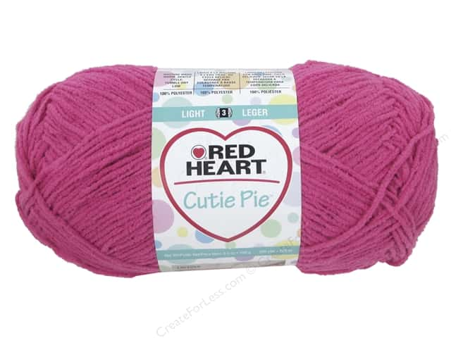 Red Heart Cutie Pie Yarn 326 yd. #0703 Tulip