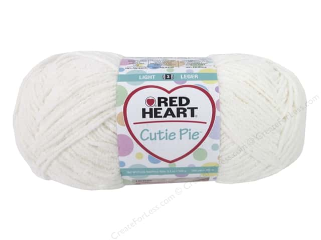 Red Heart Cutie Pie Yarn 326 yd. #0010 Cotton