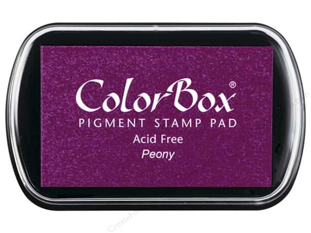 ColorBox Pigment Inkpad Full Size Peony