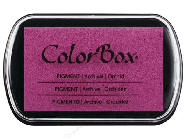 Colorbox Full Size Pigment Inkpad Orchid