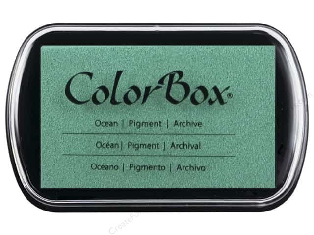 Colorbox Full Size Pigment Inkpad Ocean
