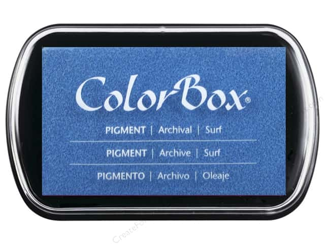 ColorBox Pigment Inkpad Full Size Surf