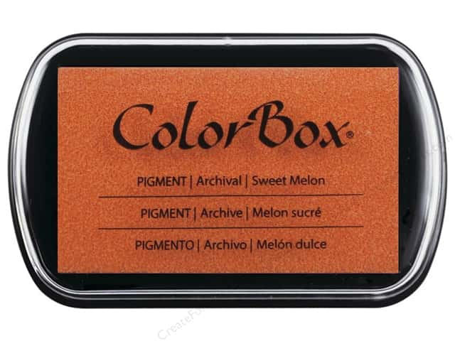 Colorbox Full Size Pigment Inkpad Sweet Melon