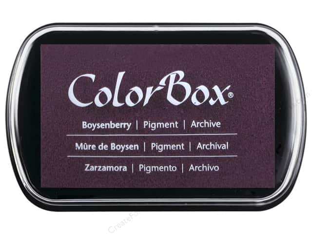 Colorbox Full Size Pigment Inkpad Boysenberry
