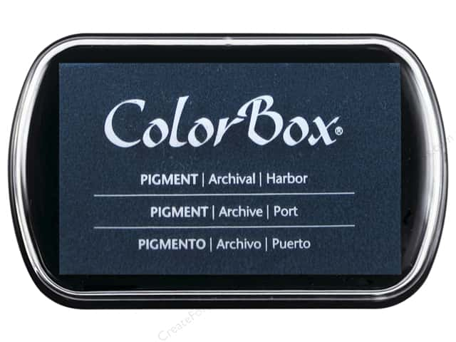 Colorbox Full Size Pigment Inkpad Harbor