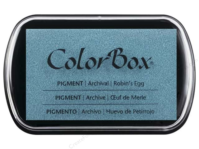 Colorbox Full Size Pigment Inkpad Robin's Egg