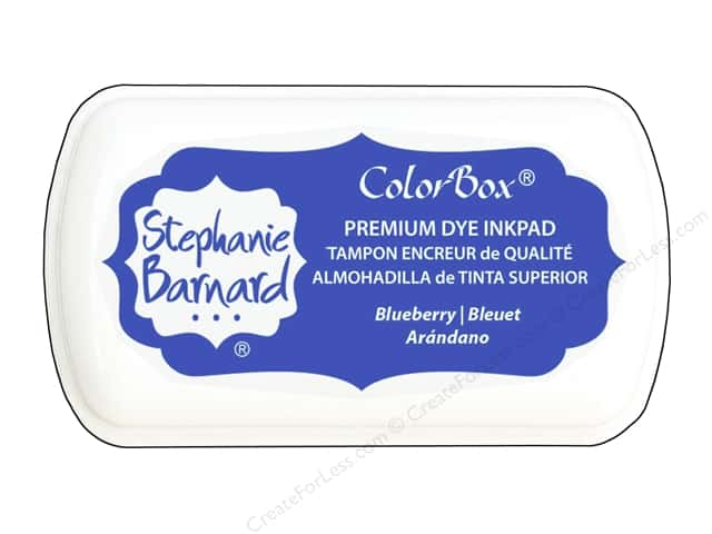 ColorBox Premium Dye Inkpad Stephanie Barnard Mini Blueberry
