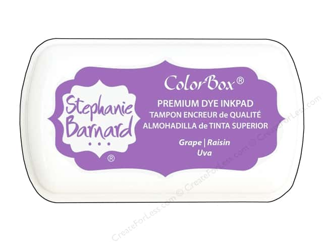ColorBox Premium Dye Inkpad Stephanie Barnard Mini Grape