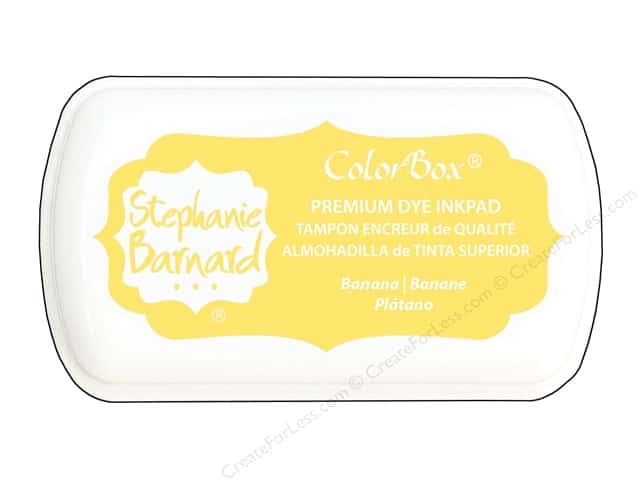 ColorBox Premium Dye Mini Ink Pad by Stephanie Barnard Banana