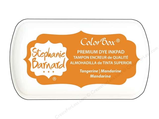 ColorBox Premium Dye Mini Ink Pad by Stephanie Barnard Tangerine