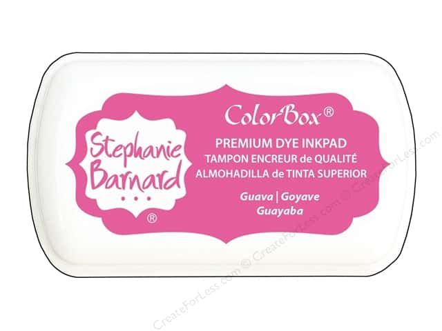 ColorBox Premium Dye Mini Ink Pad by Stephanie Barnard Guava