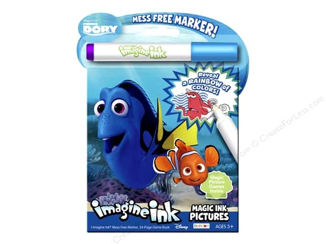 Bendon Magic Ink Pictures Book Disney Finding Dory