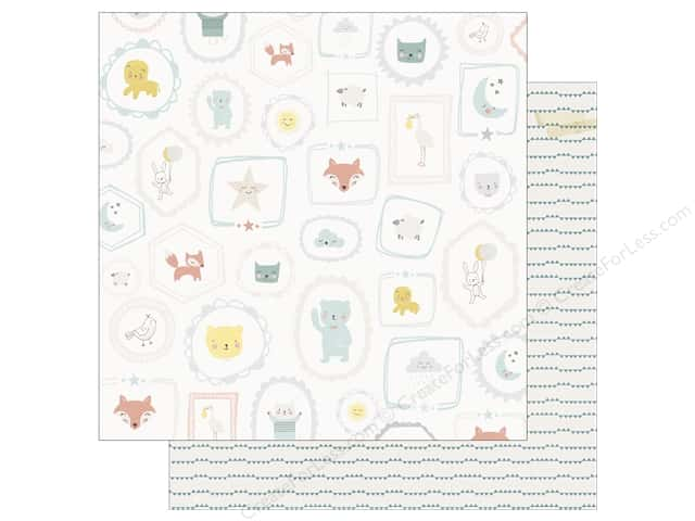Crate Paper 12 x 12 in. Paper Little You Sweet Boy (25 sheets)
