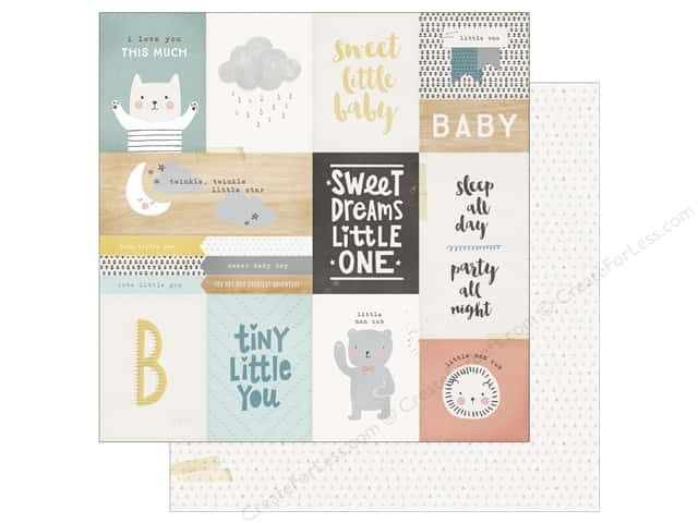 Crate Paper 12 x 12 in. Paper Little You Little One (25 sheets)