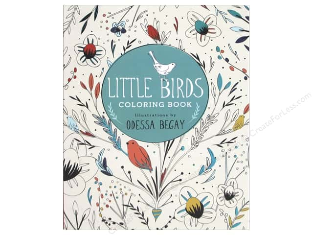 Lark Little Birds Coloring Book
