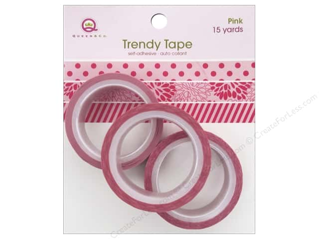 Queen&Co Trendy Tape Trio Set Pink