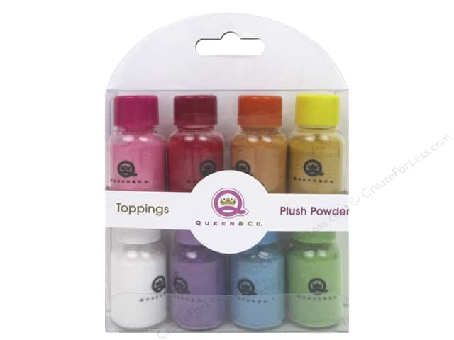 Queen&Co Collection Toppings Set Plush Powder