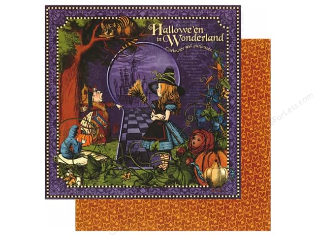 Graphic 45 12 x 12 in. Paper Halloween in Wonderland (25 sheets)