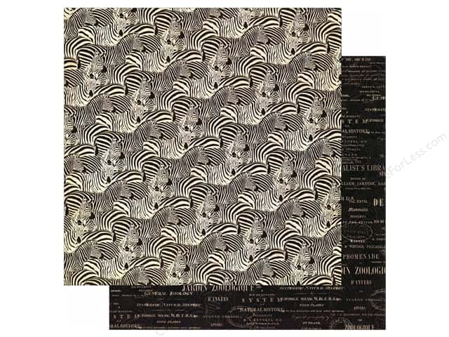 Graphic 45 12 x 12 in. Paper Safari Adventure Natural Habitat (25 sheets)