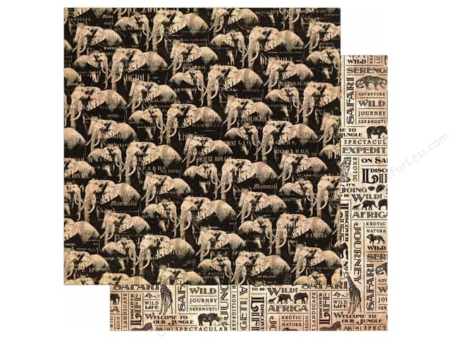 Graphic 45 12 x 12 in. Paper Safari Adventure Great Migration (25 sheets)