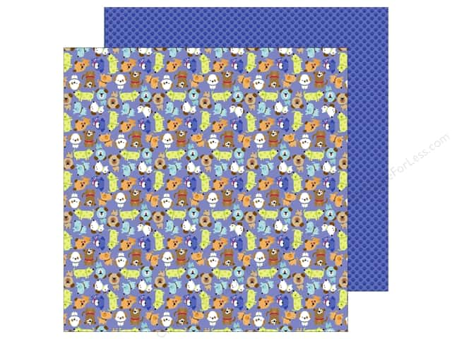 Doodlebug 12 x 12 in. Paper Puppy Love Puppy Pals (25 sheets)
