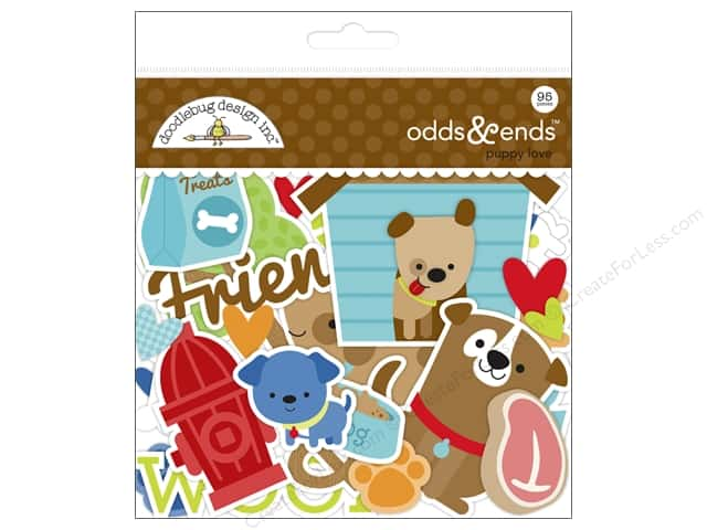 Doodlebug Collection Puppy Love Odds & Ends