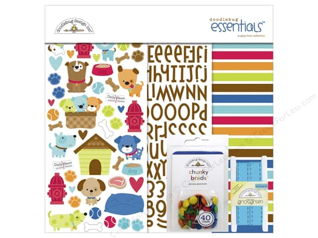 Doodlebug Essentials Kit Puppy Love