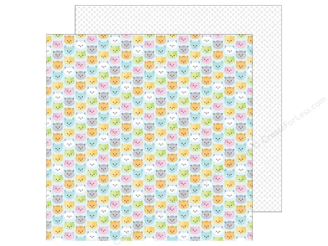 Doodlebug 12 x 12 in. Paper Kitten Smitten Pretty Kitties (25 sheets)