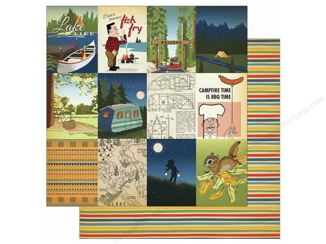 Carta Bella 12 x 12 in. Paper Great Outdoors 3x4 Journaling Card (25 sheets)